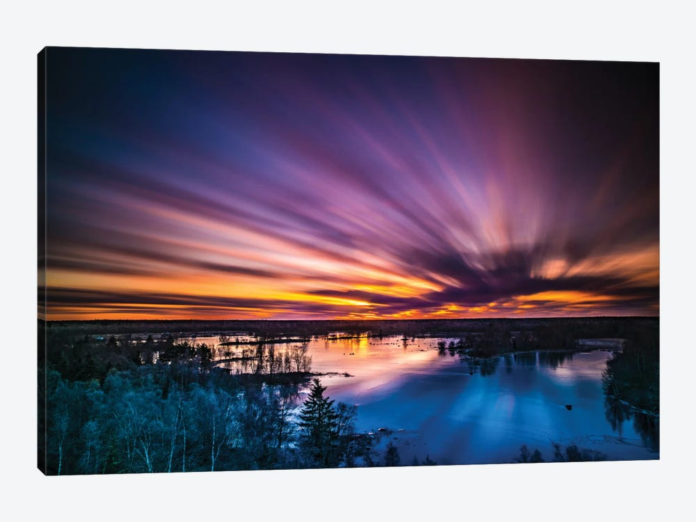 Finland 1-piece Canvas Wall Art