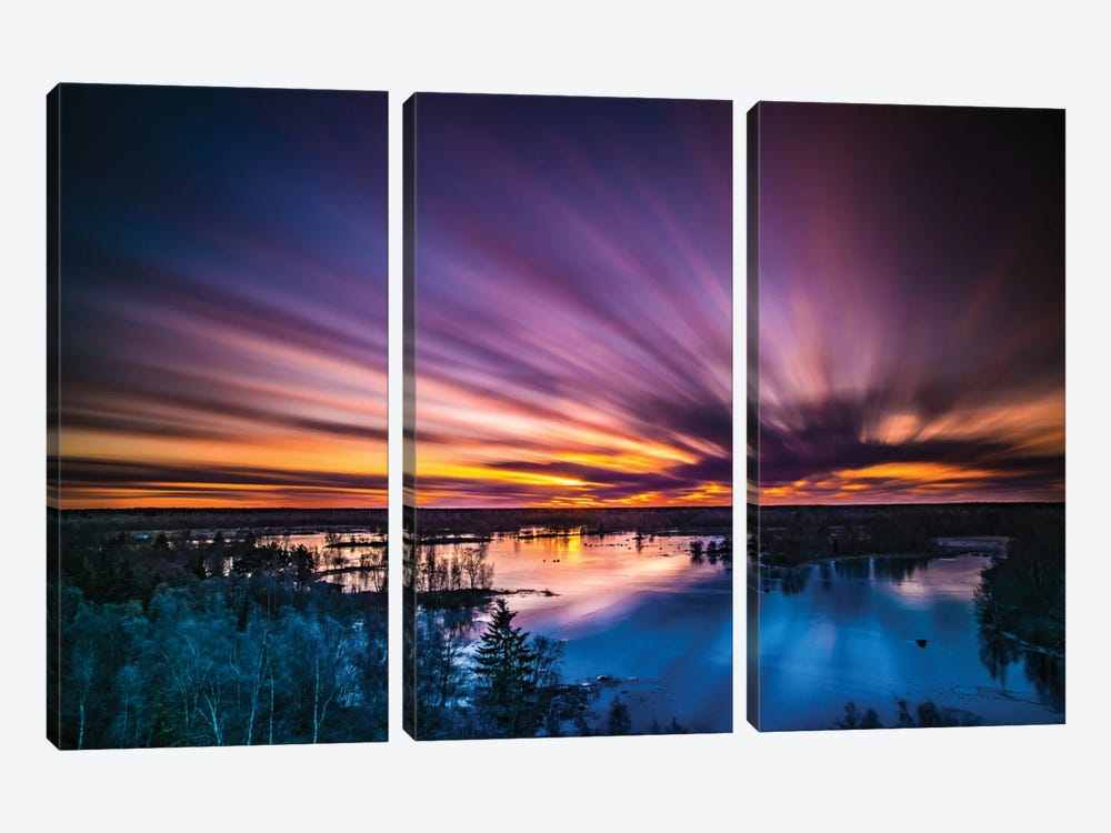 Finland by Anders Jorulf 3-piece Canvas Wall Art