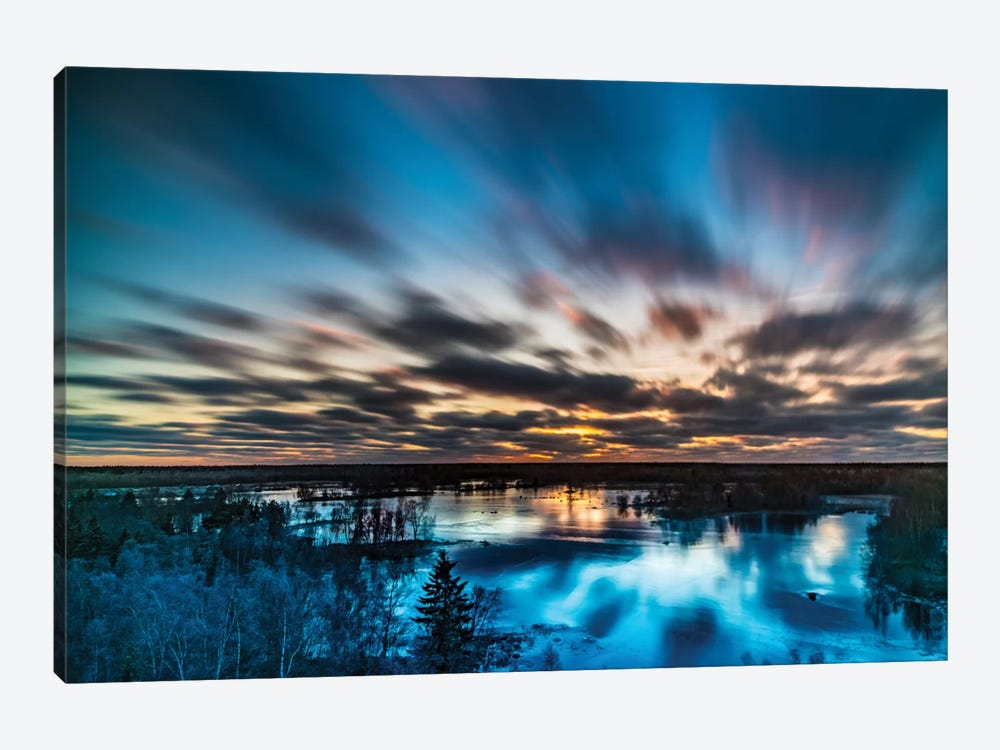 Ice 1-piece Canvas Wall Art