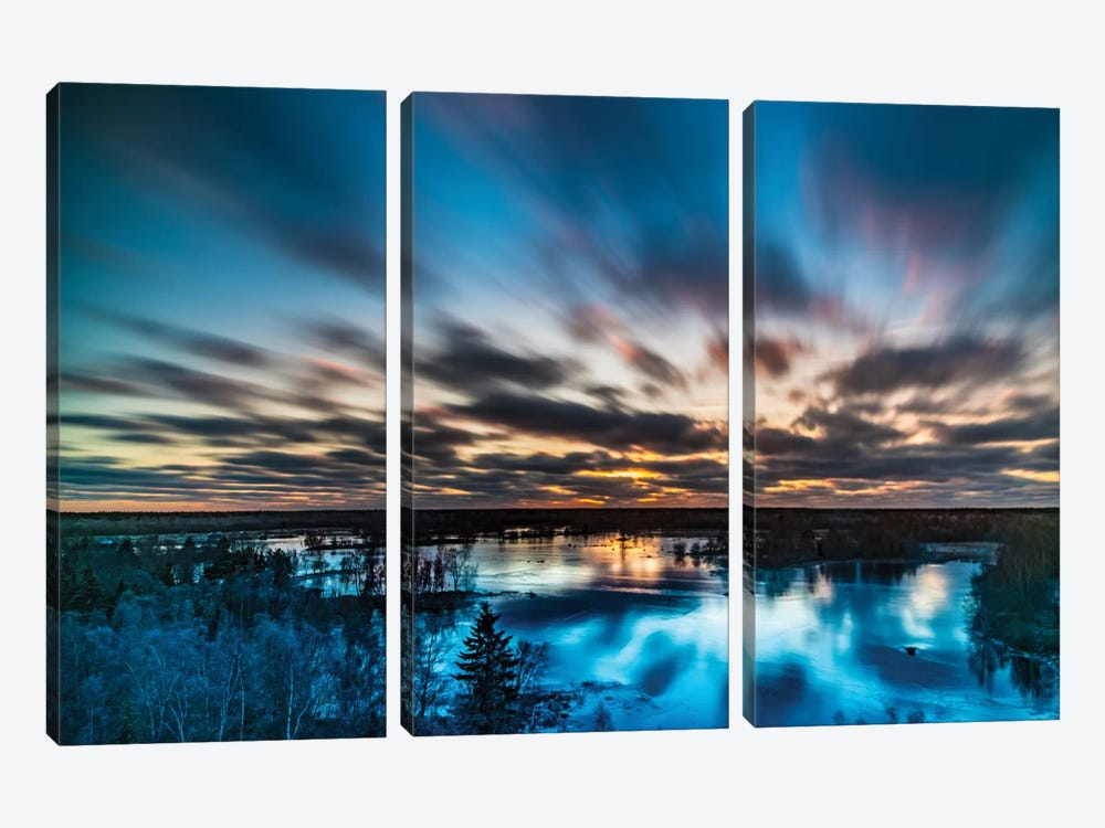 Ice 3-piece Canvas Wall Art
