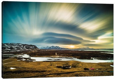 Iceland Canvas Art Print
