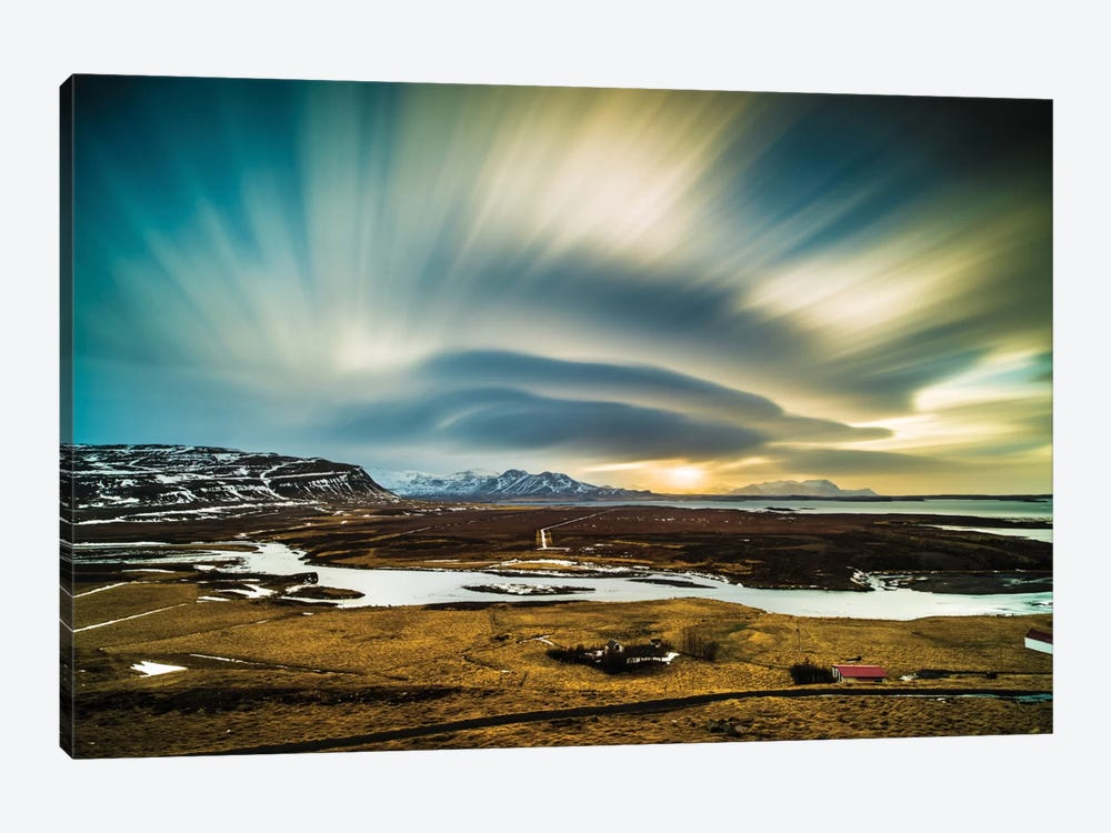 Iceland 1-piece Canvas Print