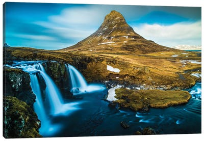 Kirkjufellsfoss Canvas Art Print