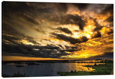 Last Sunset Canvas Art Print