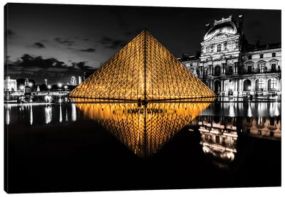 The Louvre Canvas Art Print