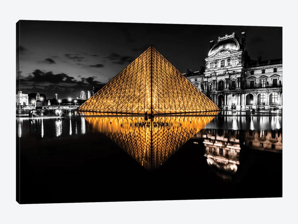 The Louvre by Anders Jorulf 1-piece Canvas Print