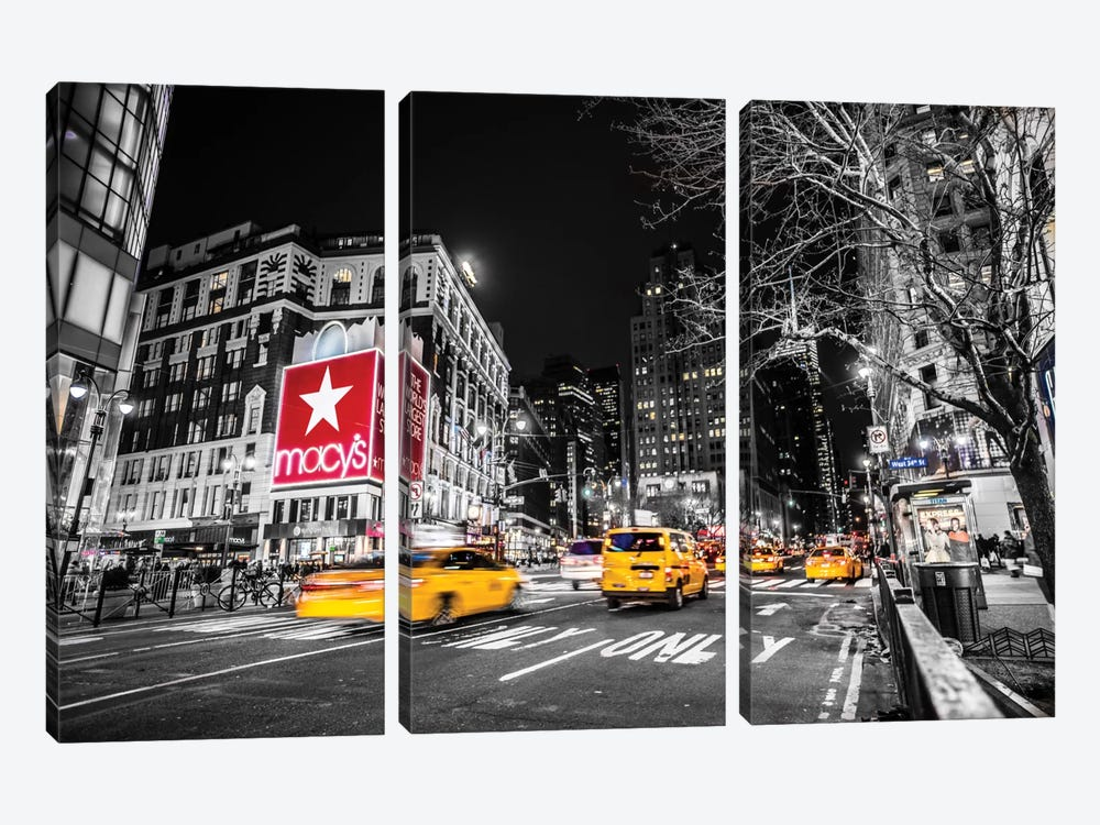 Macy´s by Anders Jorulf 3-piece Canvas Print