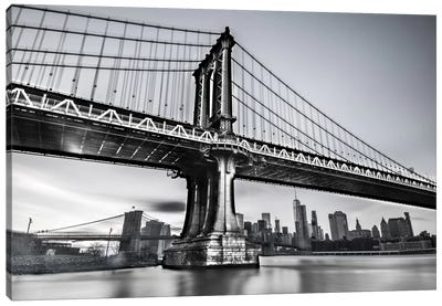 Manhattan Bridge Canvas Art Print