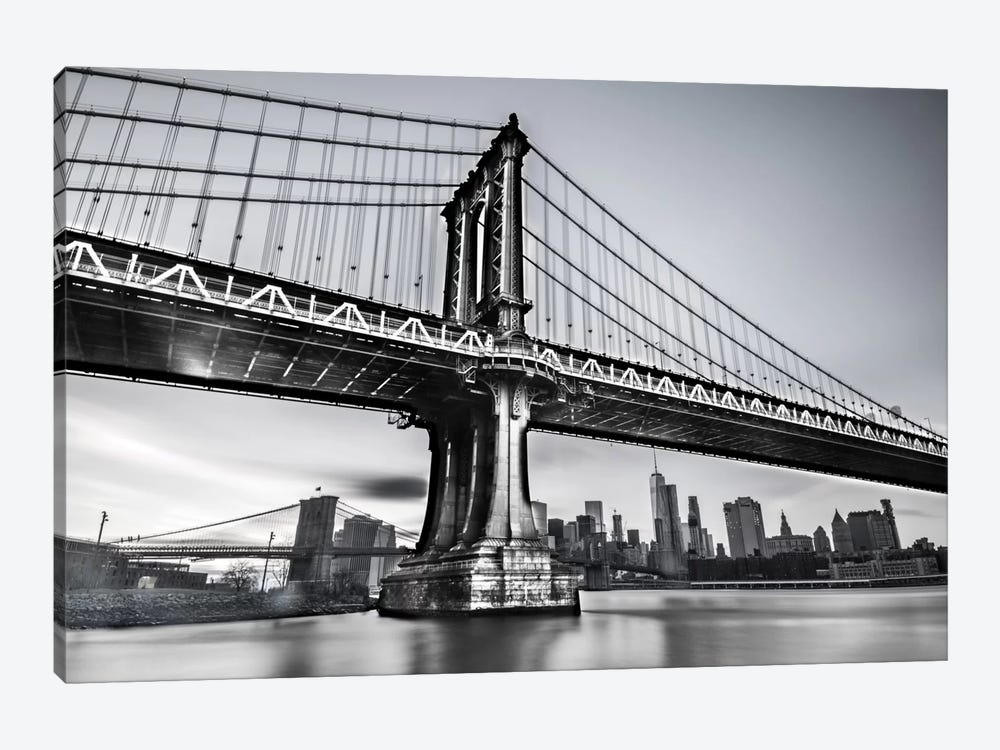 Manhattan Bridge by Anders Jorulf 1-piece Canvas Art