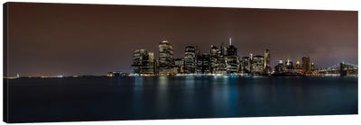 Manhattan Skyline Canvas Art Print