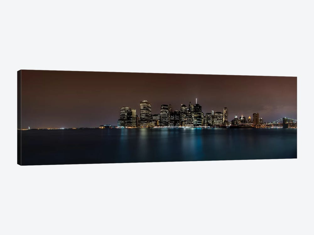 Manhattan Skyline 1-piece Canvas Print