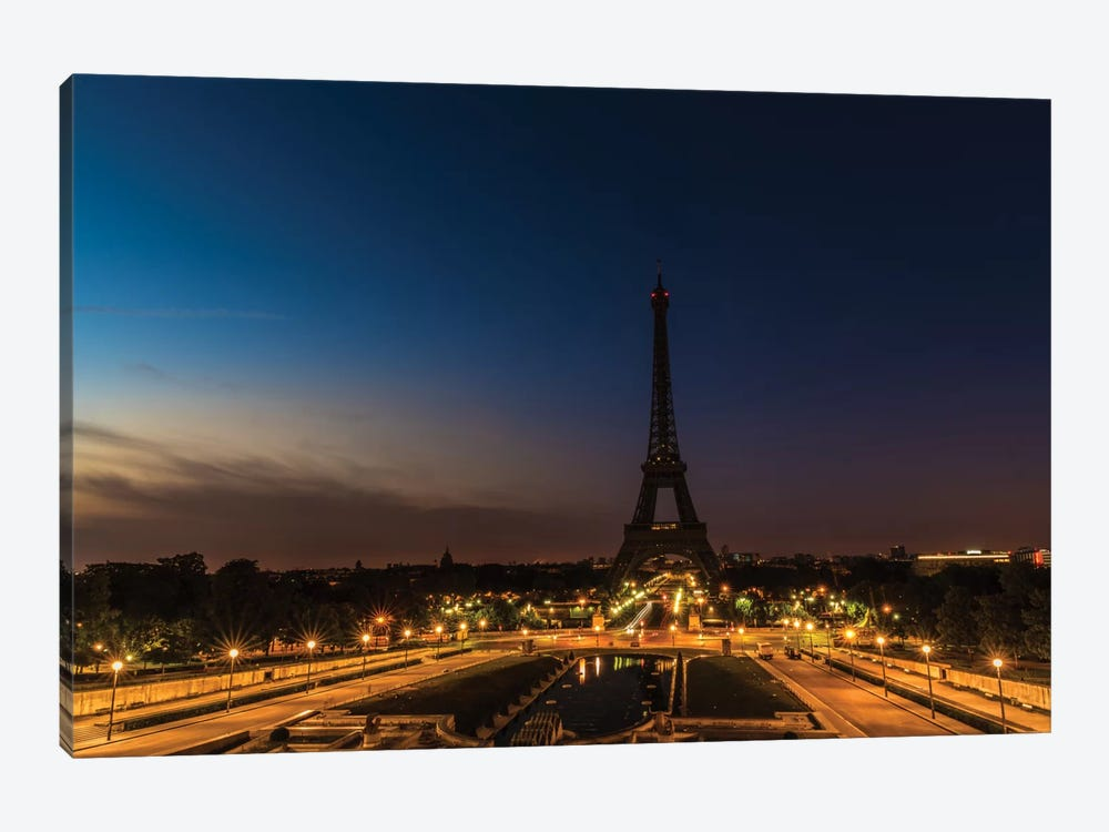 Morning In Paris by Anders Jorulf 1-piece Canvas Art