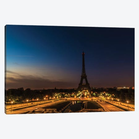 Morning In Paris Canvas Print #JOR31} by Anders Jorulf Canvas Print