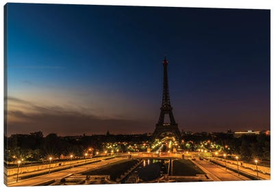 Morning In Paris Canvas Art Print