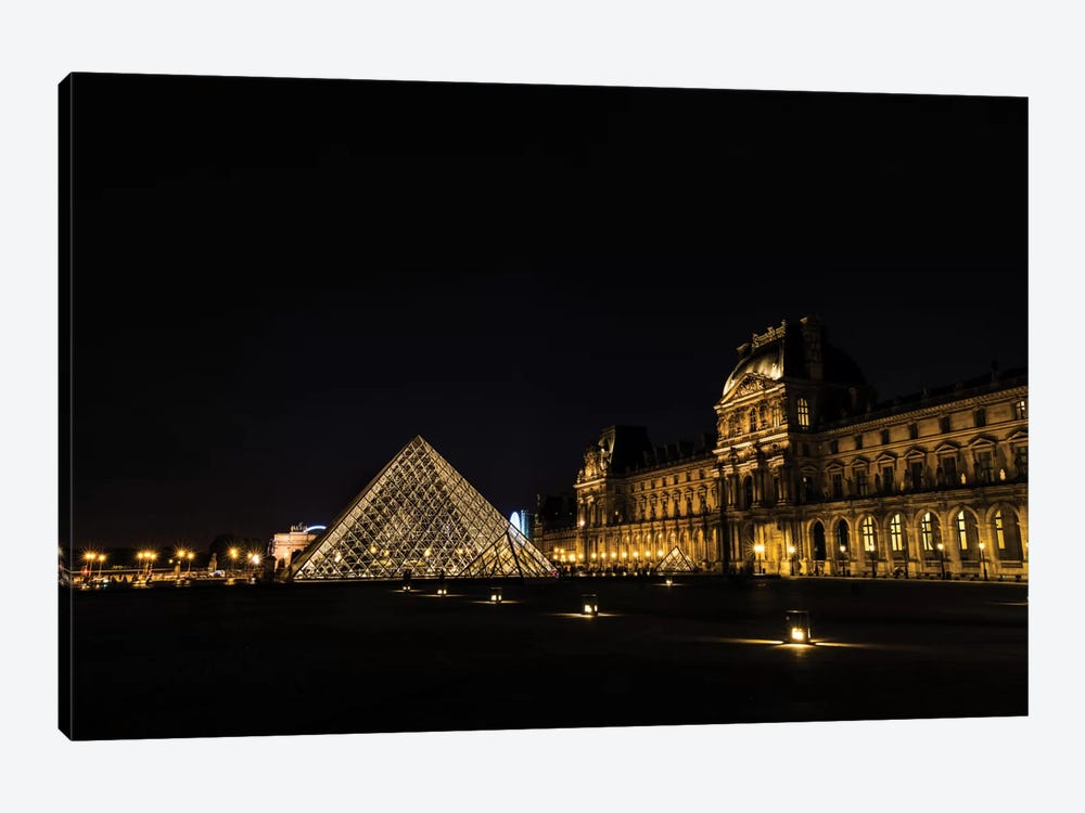 Night In Paris by Anders Jorulf 1-piece Canvas Wall Art