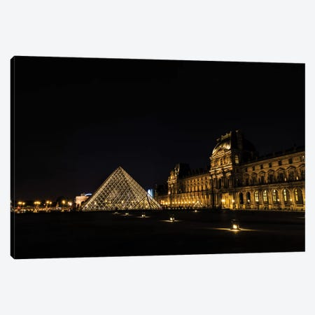 Night In Paris Canvas Print #JOR33} by Anders Jorulf Canvas Print