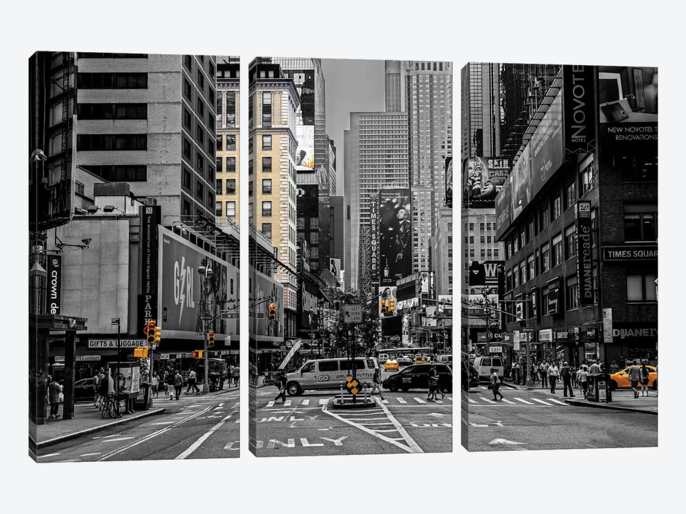 NYC by Anders Jorulf 3-piece Canvas Wall Art