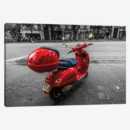 Red Canvas Print #JOR39} by Anders Jorulf Canvas Print