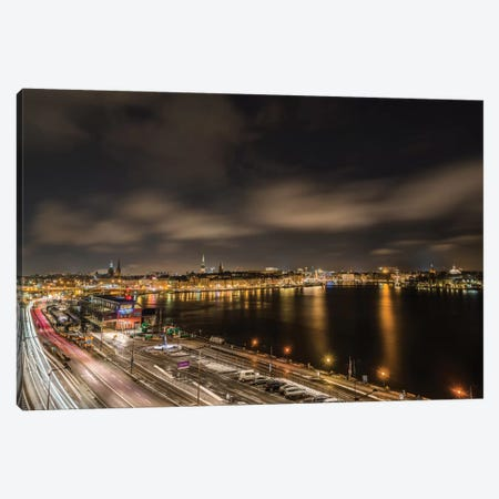 Stockholm Canvas Print #JOR42} by Anders Jorulf Canvas Wall Art