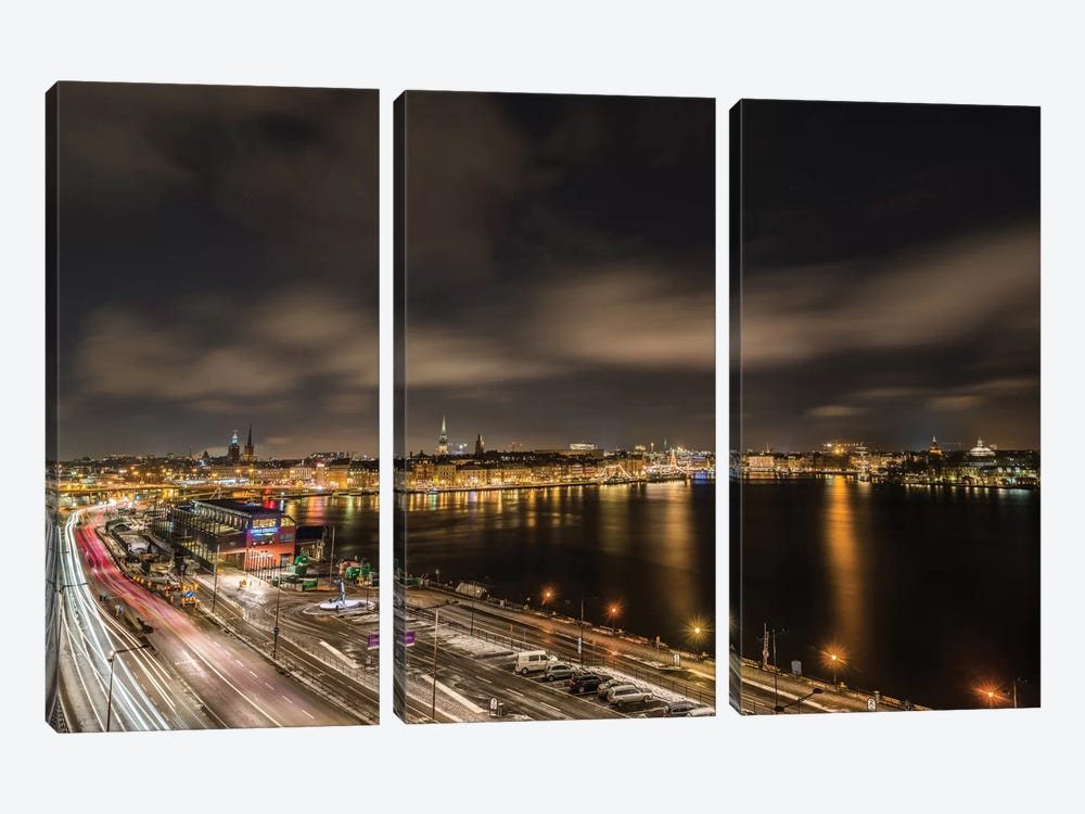 Stockholm by Anders Jorulf 3-piece Canvas Wall Art