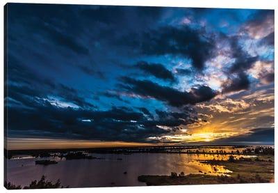 Sunset Canvas Print #JOR43