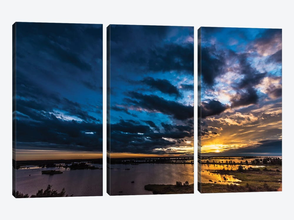 Sunset I by Anders Jorulf 3-piece Art Print
