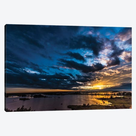 Sunset I Canvas Print #JOR43} by Anders Jorulf Canvas Wall Art