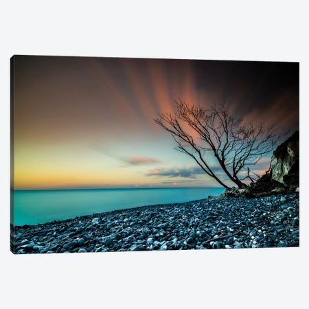 Sunset In Denmark Canvas Print #JOR44} by Anders Jorulf Art Print