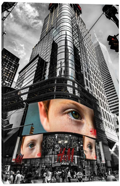 The Eye Canvas Print #JOR46