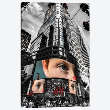 The Eye Canvas Print #JOR46} by Anders Jorulf Canvas Art Print
