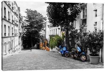 The Streets Of Paris Canvas Art Print