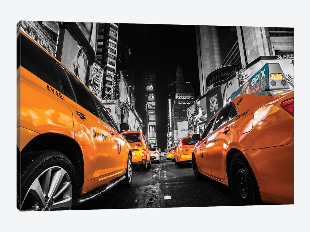 Times Square, NYC by Anders Jorulf 1-piece Canvas Art