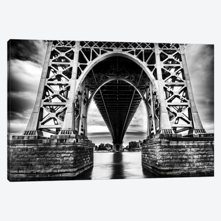 Williamsburg Bridge Canvas Print #JOR53} by Anders Jorulf Canvas Art Print