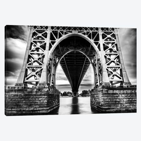 Williamsburg Bridge Canvas Print #JOR53} by Anders Jorulf Canvas Art Print