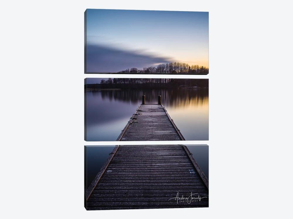 Bridge Over Silent Water by Anders Jorulf 3-piece Art Print