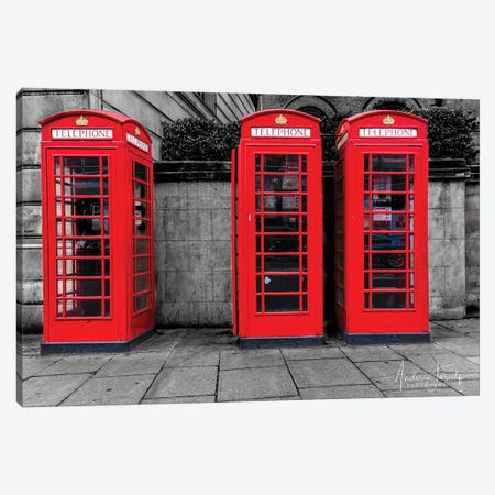 London Calling Canvas Print #JOR73} by Anders Jorulf Canvas Print