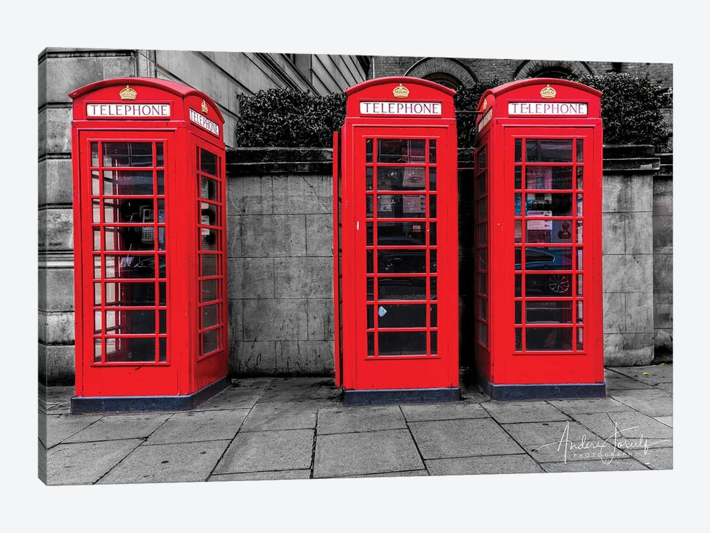 London Calling by Anders Jorulf 1-piece Canvas Art