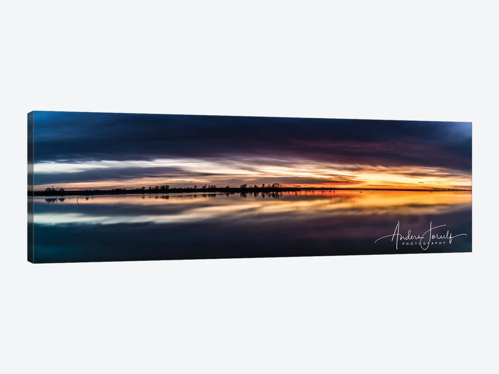 Sunset Dream by Anders Jorulf 1-piece Canvas Artwork