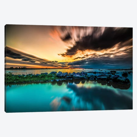 Sunset II Canvas Print #JOR78} by Anders Jorulf Canvas Print