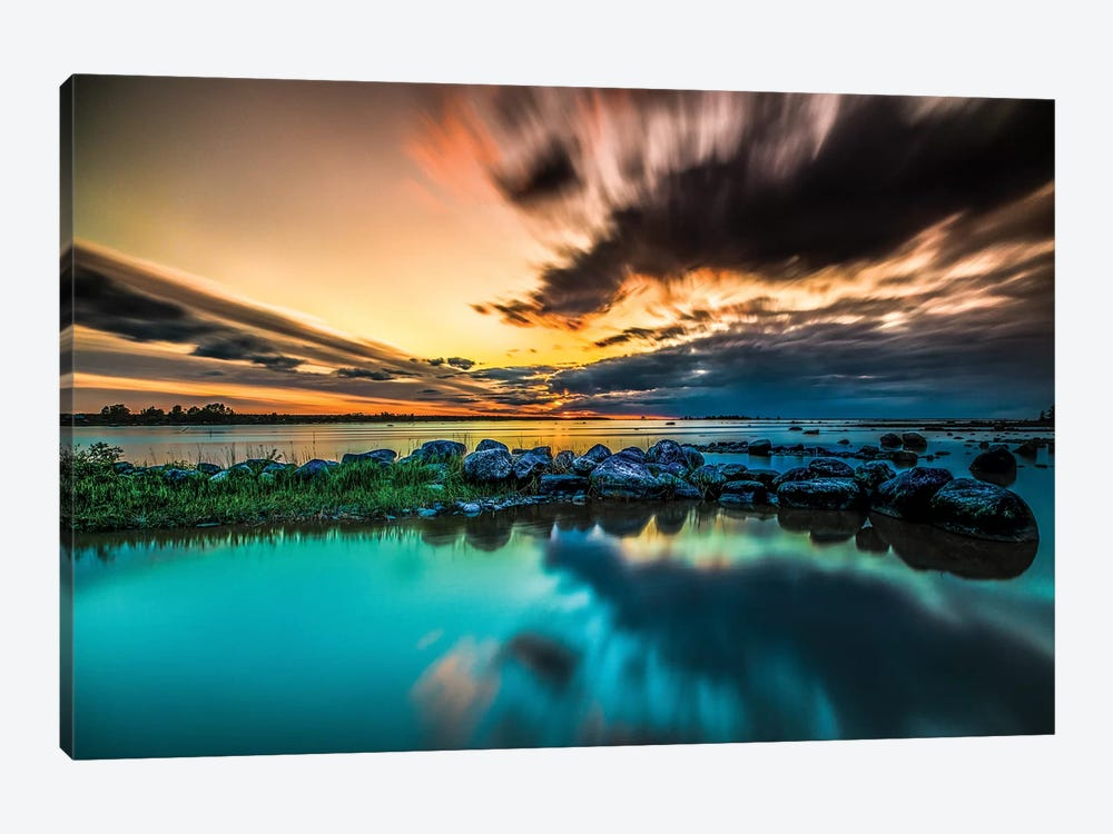 Sunset II by Anders Jorulf 1-piece Canvas Print