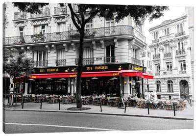 Cafe In Paris Canvas Art Print