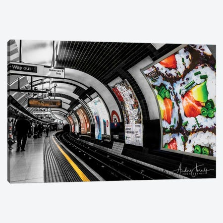 The Way Out To Bakerloo Canvas Print #JOR80} by Anders Jorulf Canvas Artwork