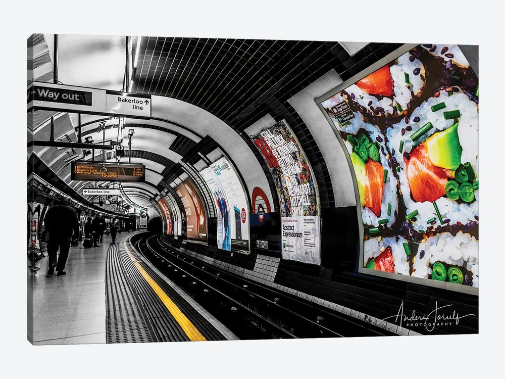 The Way Out To Bakerloo by Anders Jorulf 1-piece Canvas Wall Art