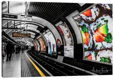 The Way Out To Bakerloo Canvas Art Print
