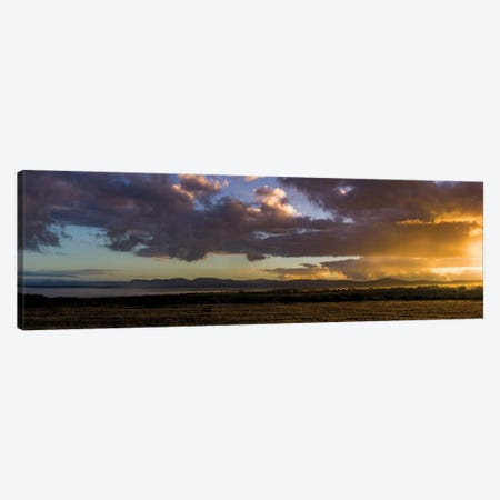 African Morning Canvas Print #JOR81} by Anders Jorulf Canvas Artwork