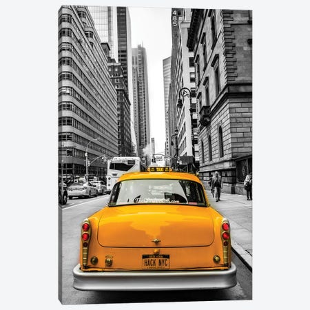 Checker In NYC Canvas Print #JOR85} by Anders Jorulf Canvas Print