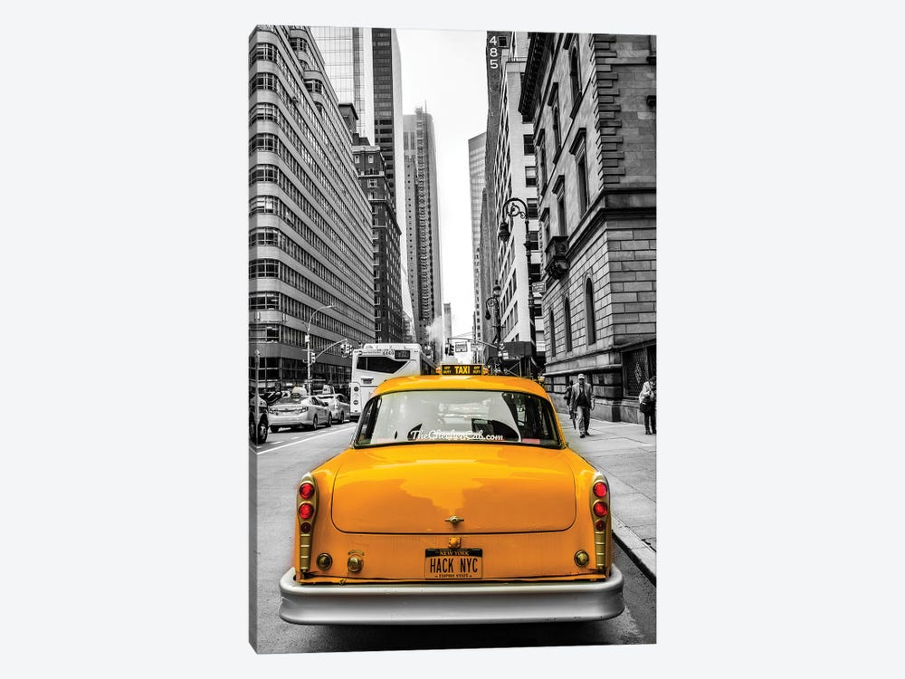 Checker In NYC by Anders Jorulf 1-piece Canvas Art Print