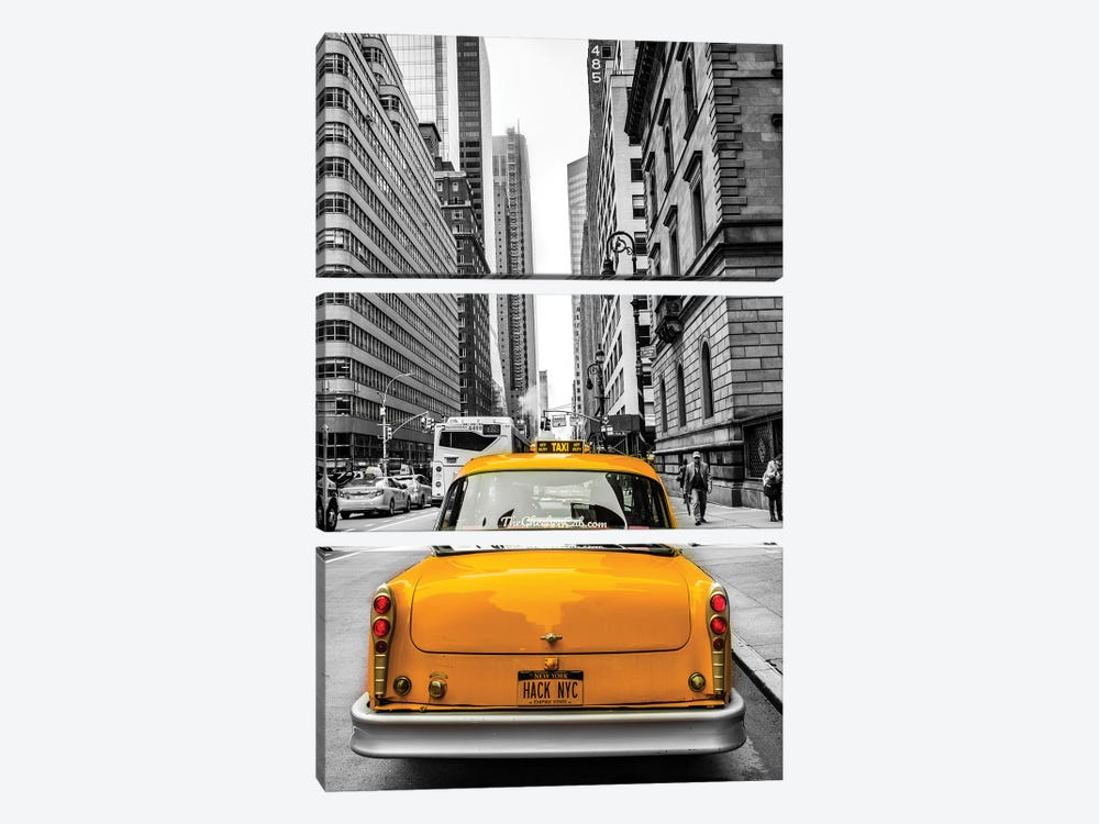 Checker In NYC by Anders Jorulf 3-piece Art Print