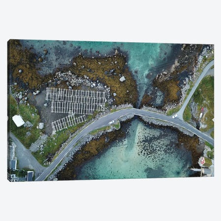 Lofoten View Canvas Print #JOR94} by Anders Jorulf Canvas Art