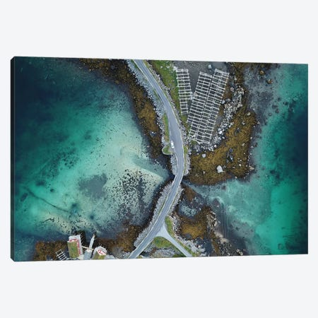 Lofoten From Above Canvas Print #JOR95} by Anders Jorulf Canvas Art